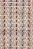 手工造织法纹理泰国薹席子背景 库存图片