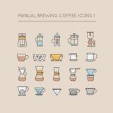 手工酿造咖啡象1 库存图片