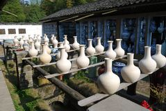手工陶瓷器3 库存图片