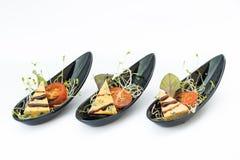 手抓食物承办宴席完善对事件或婚礼聚会 免版税库存照片
