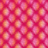 手拉的三角 免版税图库摄影