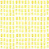 手拉的几何长方形金无缝的样式 库存照片