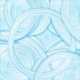 手拉的圈子 抽象设计 免版税库存照片
