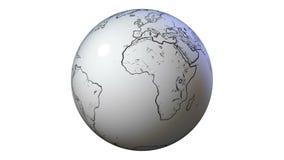 手拉的地球