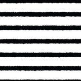 手拉的条纹无缝的背景 皇族释放例证