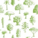 手拉的树样式 库存图片
