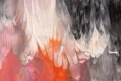 手拉的树胶水彩画颜料绘画 抽象派背景 颜色纹理 免版税图库摄影
