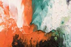 手拉的树胶水彩画颜料绘画 抽象派背景 颜色纹理 免版税库存图片