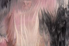 手拉的树胶水彩画颜料绘画 抽象派背景 颜色纹理 图库摄影