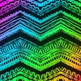 手拉的被绘的无缝的样式 向量 库存例证