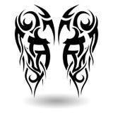 手拉的部族纹身花刺 库存图片