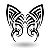 手拉的部族纹身花刺 库存照片