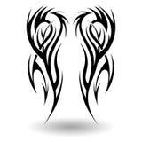 手拉的部族纹身花刺 图库摄影