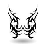 手拉的部族纹身花刺 免版税库存照片