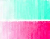 手拉的水彩桃红色背景 免版税图库摄影