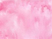 手拉的水彩背景 免版税库存照片