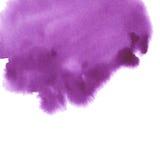 手拉的水彩背景 免版税图库摄影