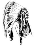 手拉美国本地人的传染媒介eps,传染媒介,Eps,商标,象,crafteroks,剪影例证为不同的使用 皇族释放例证