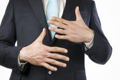 手指十 免版税库存图片