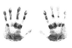 手指打印  免版税库存照片