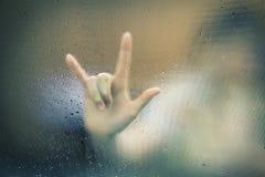 手指点迷离 免版税库存照片
