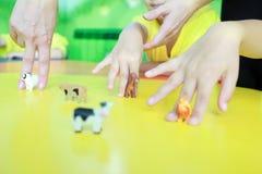 手指的能动性 库存照片