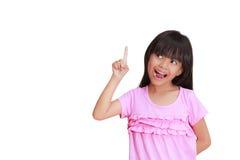 手指索引 免版税库存照片