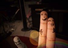 手指表示 库存图片