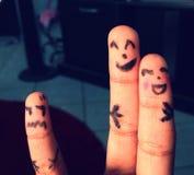 手指表示 图库摄影