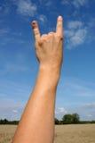 手指递培养了二 免版税图库摄影