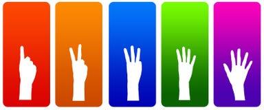 手指 向量例证