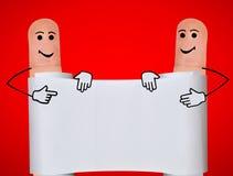 手指 免版税库存图片