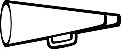 手提式扬声机 免版税库存图片