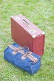 手提箱和袋子旅行的 免版税图库摄影