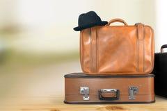 手提箱行李 免版税图库摄影
