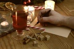 手文字圣诞节 图库摄影