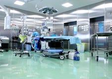 手术室在一家现代医院 免版税库存照片