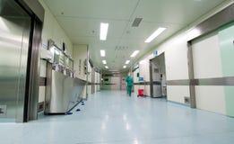 手术室走廊 免版税库存图片