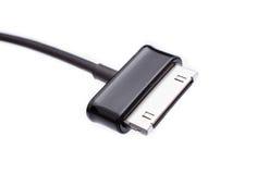 手机充电器 库存图片