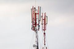手机塔gsm 免版税库存照片