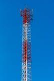 手机天线塔 免版税图库摄影