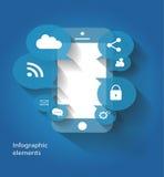 手机媒介象传染媒介为网使用 库存照片