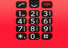 手机按钮 免版税库存照片
