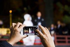 手机摄影 免版税库存图片
