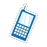 手机流动聪明的通信 图库摄影