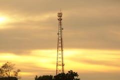 手机通信天线 图库摄影