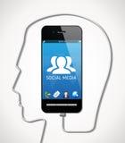 手机-通信概念 图库摄影