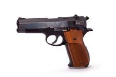 手枪半自动 免版税图库摄影