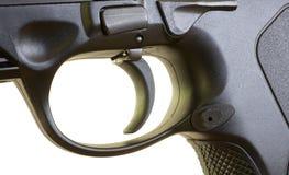 手枪触发器 免版税库存照片