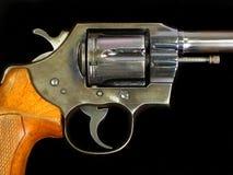 手枪警察 免版税库存图片